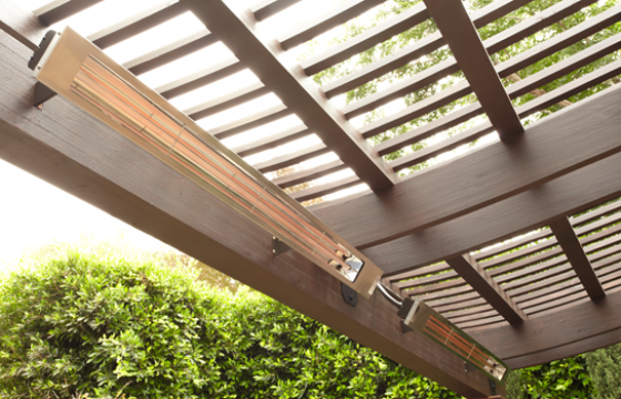 Infratech Slimline outdoor heater