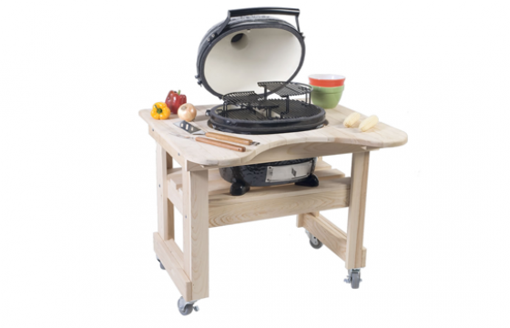 Primo Grills Oval Junior Cypress Table