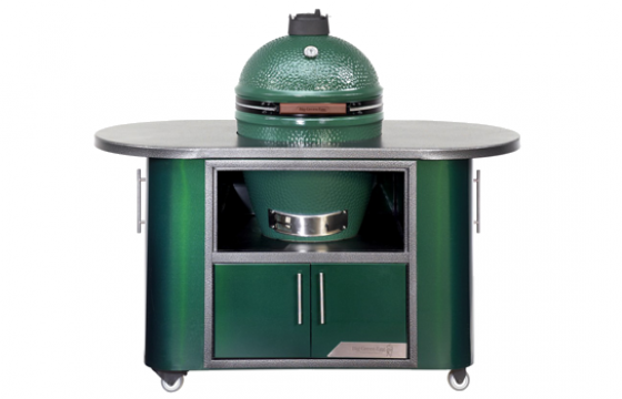 Big Green Egg Compact Cooking Island